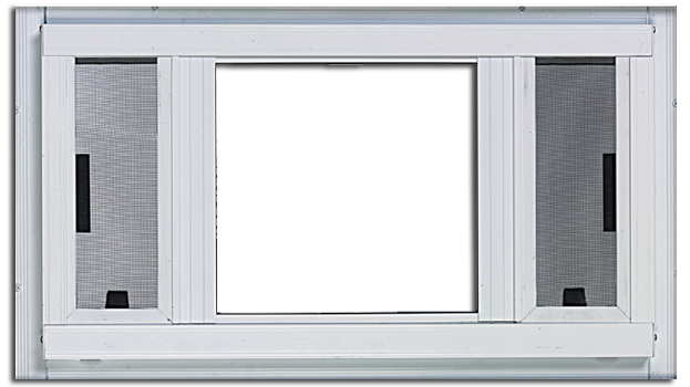 Premium Slider Picture Storm Window