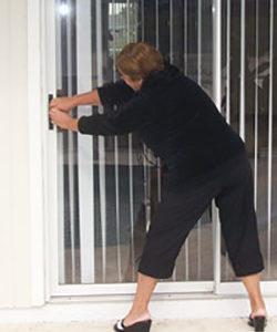 Patio Door Frame Repair