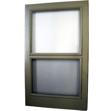 Wood Window Rescreen