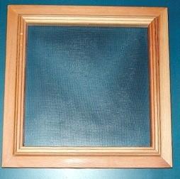 How do you rescreen a window frame?